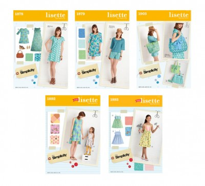 Lisette Spring 2012 Patterns