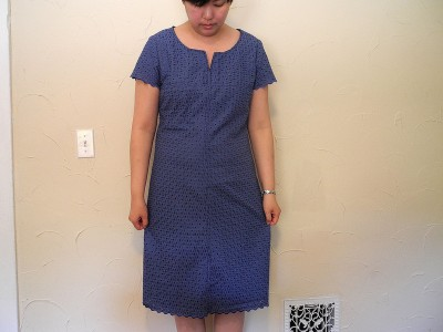 Diplomat Dress in eyelet by Rose