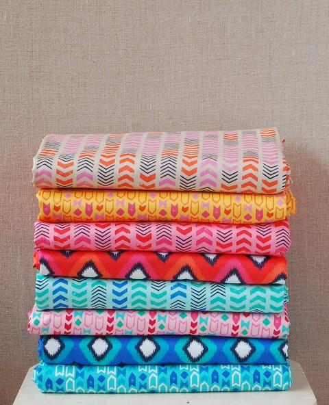 Lisette twill fabrics at Spotlight