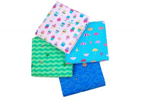 Lisette Spring 2014 novelty fabrics for Jo-Ann stores