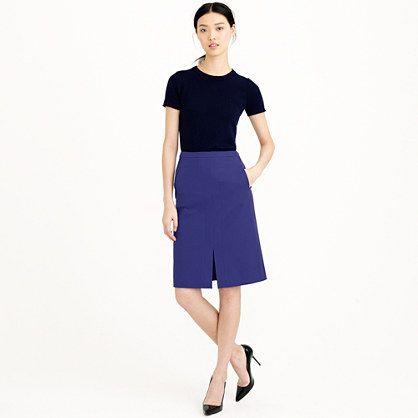 cobalt-a-line-skirt