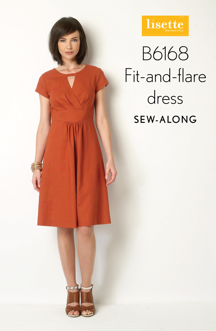 Sew Along B6168 Fit And Flare Dress Day 1 Blog Lisette