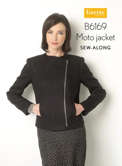 Lisette B6169 Moto Jacket Sew-along