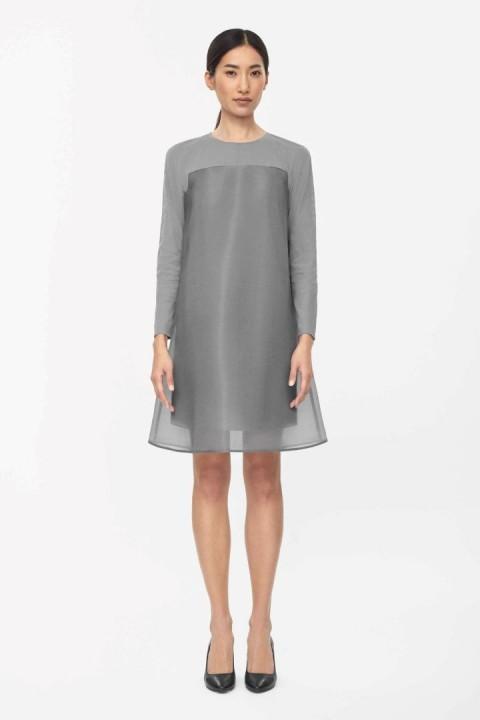 gray-dress