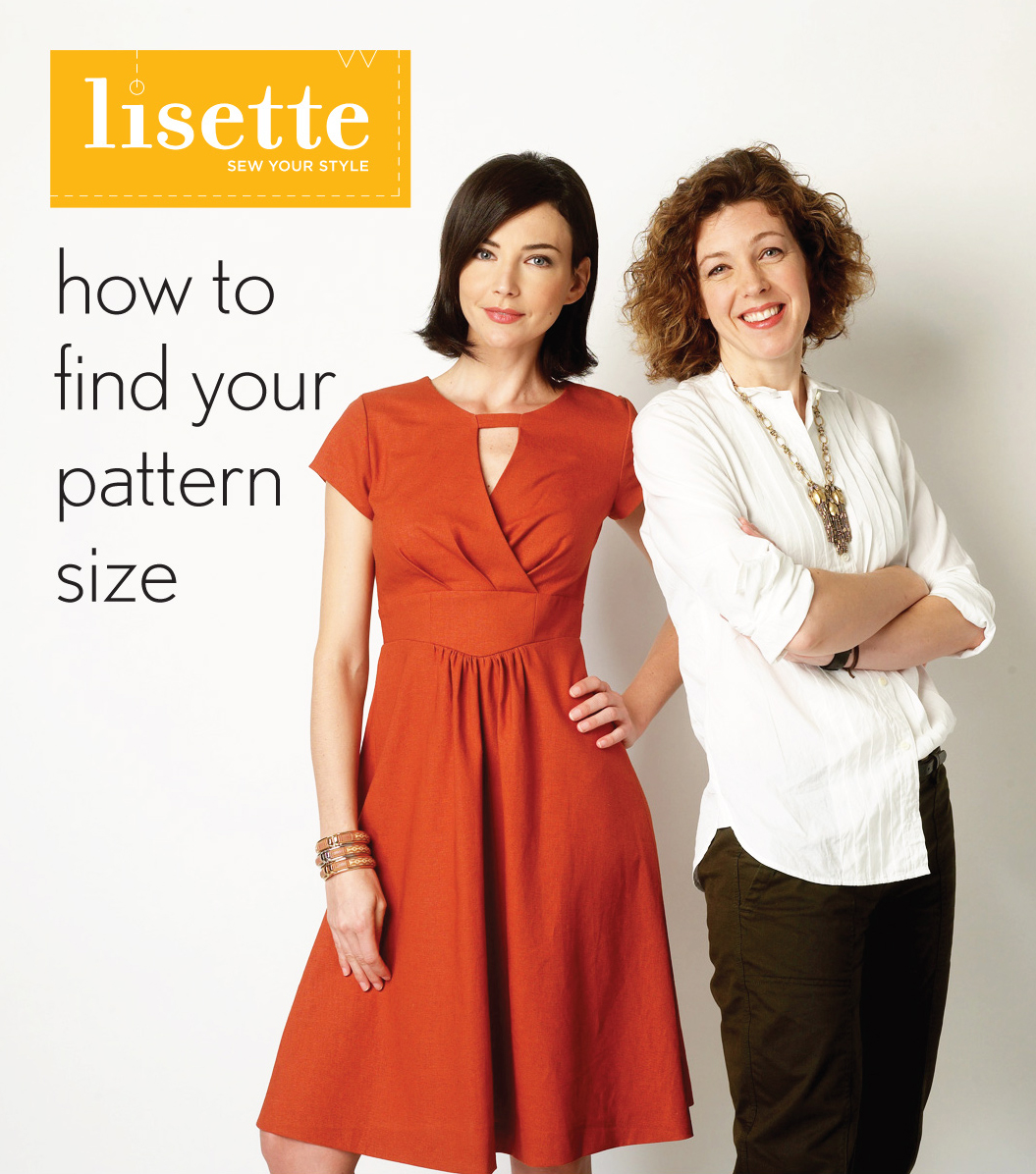Finding your sewing pattern size blog lisette baditri Gallery
