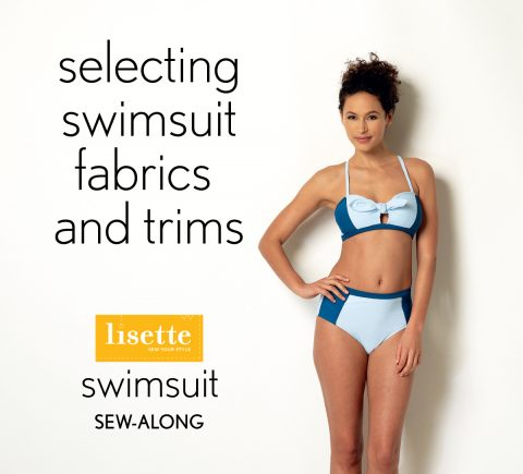 Selecting swimwear fabric