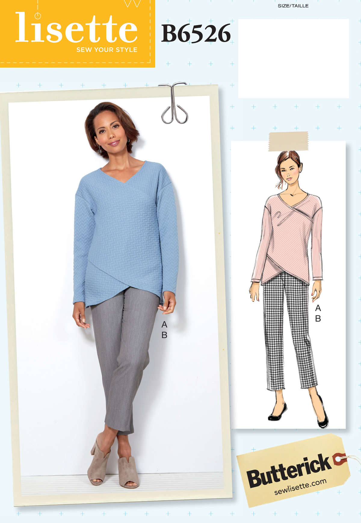 introducing B6526, a new top and pants pattern | Blog | Lisette