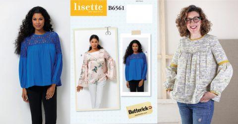 Lisette B6561 top