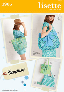 foreign exchange bag sewing pattern