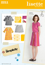 market dress, tunic, skirt & blouse sewing pattern