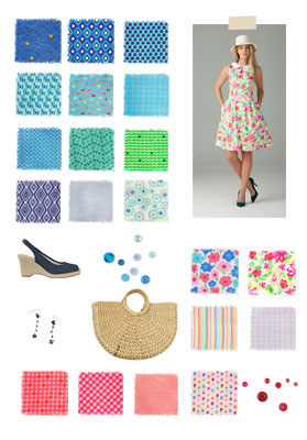 Lisette, Spring 2014 Fabric Collection