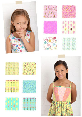 Little Lisette, Spring 2012 Fabric Collection
