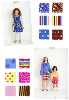 Little Lisette, Fall 2011 Fabric Collection